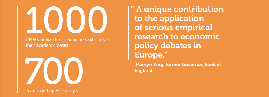 """A unique contribution to the application of serious empirical research to economic policy debates in Europe."" Mervyn King, former Governor, Bank of England"